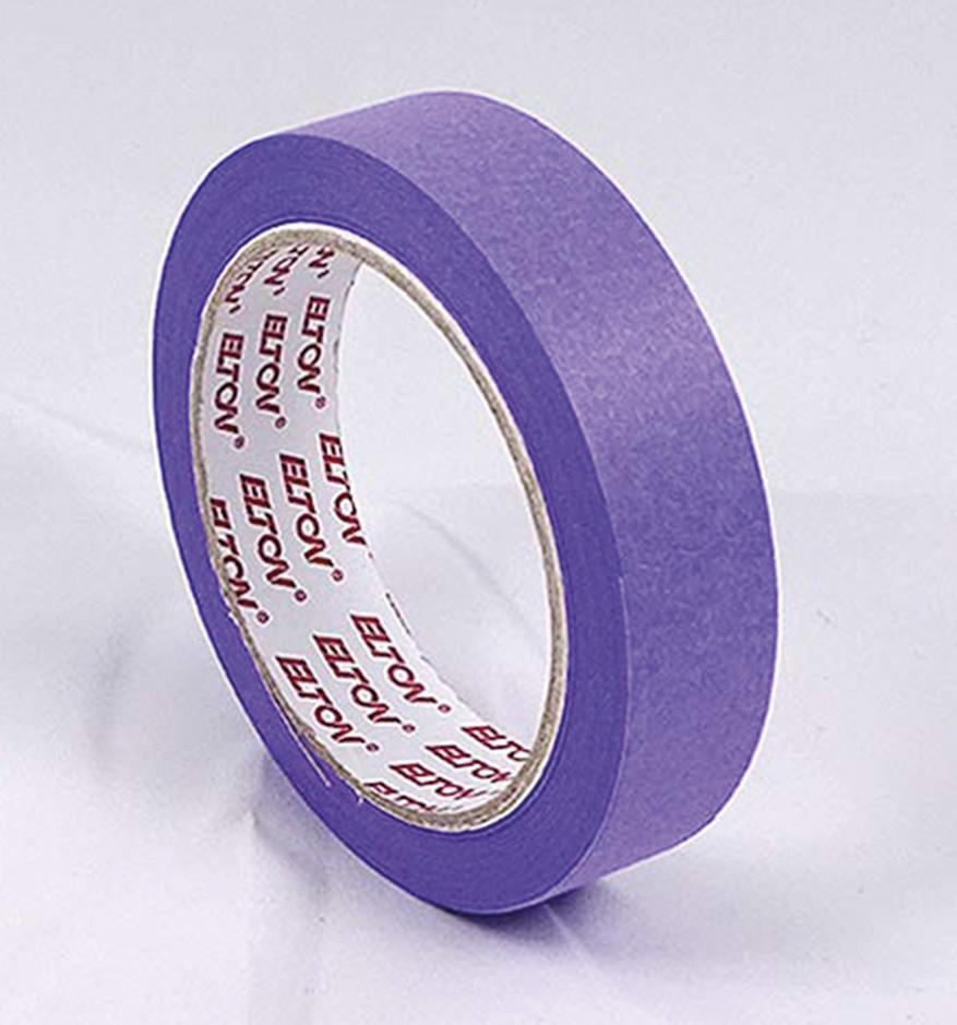 Cinta Masking Washi Violet