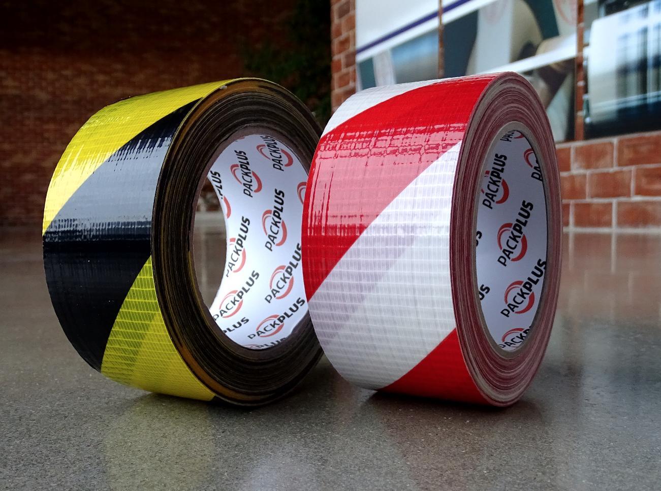 cinta de señalizacion warning adhesiva