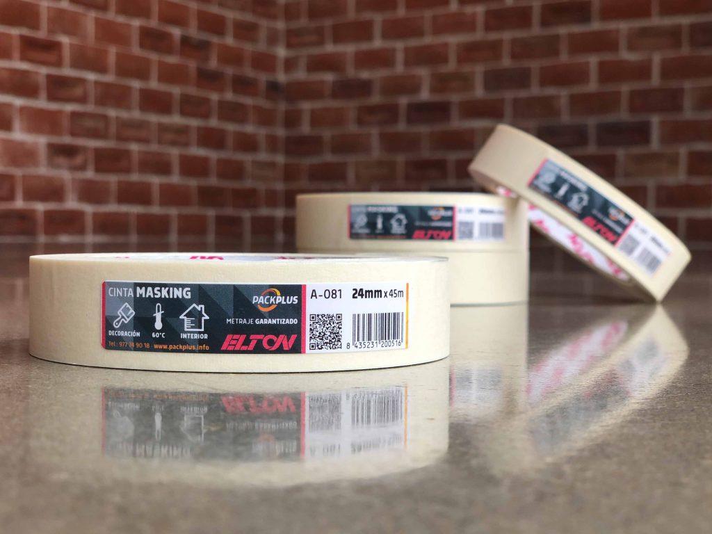 Etiquetado cinta adhesiva