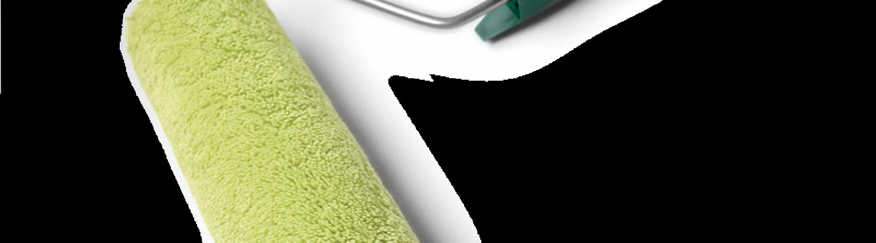 Rodillo hilo verde